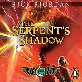 The Serpent's Shadow: The Kane Chronicles, Book 3                   Written by:                                                                                                                                 Rick Riordan                               Narrated by:                                                                                                                                 Jane Collingwood,                                                                                        Joseph May                      Length: 10 hrs and 49 mins     Not rated yet     Overall 0.0