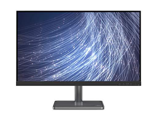 Lenovo L27i-30 - Monitor de 27' (Pantalla Full HD, 1920x1080 Píxeles, 75Hz, 4 ms, FreeSync, Puertos HDMI+VGA, Cable HDMI) Regulable en inclinación, Color Gris