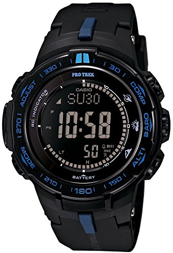 Casio PROTREK Slim Line Series Solar Multiband 6 Triple Sensor Ver.3 Men's Watch PRW-3100Y-1JF (Japan Import)