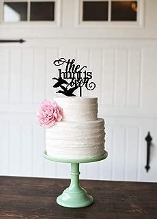 Wedding Cake Topper Hunting Wedding Cake Topper The Hunt Is Over Wedding Cake Topper Duck Hunting Topper Custom Hunting Cake Topper