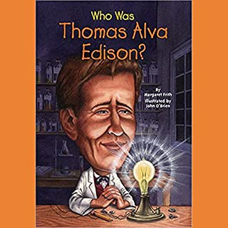 Who Was Thomas Alva Edison? audiobook cover art