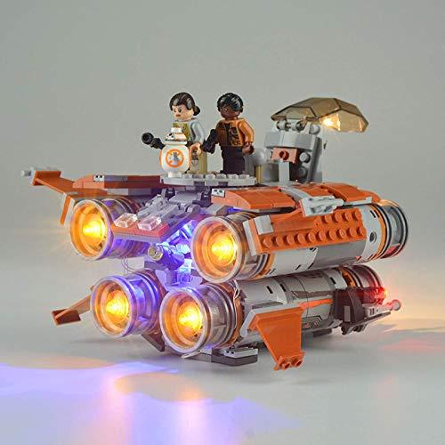 ADMLZQQ Lichtset für (Star Wars The Jakku Quad Jumper) Bausteine Modell - LED-Lichtset Kompatibel mit Lego...