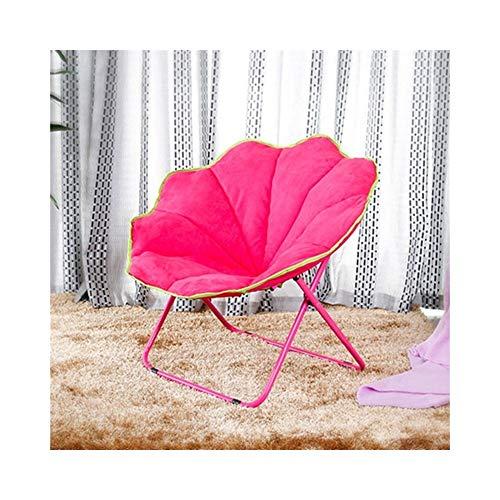 AJZXHESimple et créatif Balcon Pliant Chaise Longue, canapé Paresseux, Chaise Pliante en Tissu, Chaise Papillon (Couleur : D)