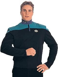 Star Trek Deep Space Nine Adult Uniform Costumes Shirt (Teal) M
