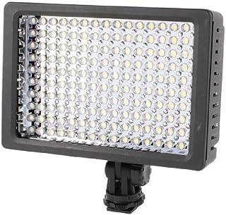 eDealMax Lámpara de luz HD-160-LED de la batería Para la videocámara de