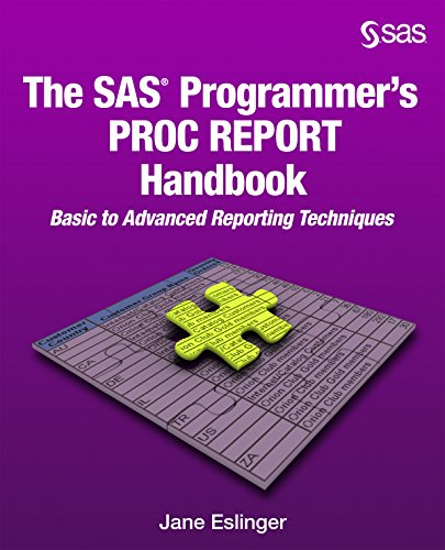 The SAS Programmer's PROC REPORT Ha…