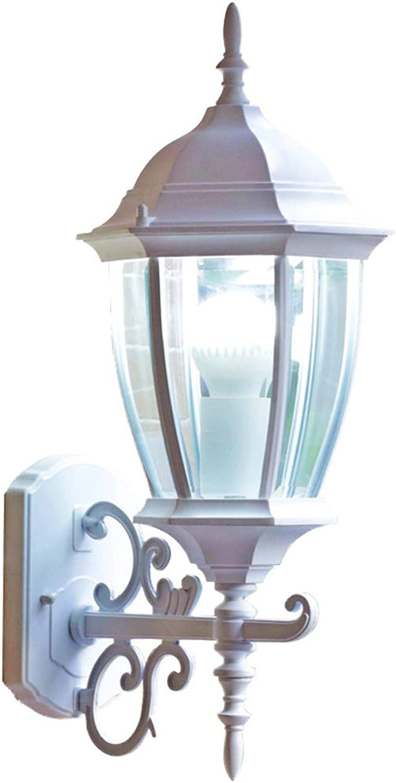 JINGD wasserdichte Patio-Wandleuchte im Freien, Wohn-   Schlafzimmer Balkon Villa Gartenbeleuchtung