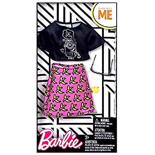 Barbie Despicable Me Black Top Banana Skirt Fashion Pack Buy Online In Colombia Barbie Products In Colombia See Prices Reviews And Free Delivery Over Col 200 000 Desertcart