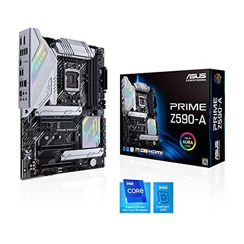 ASUS INTEL 第10世代・11世代CPU(LGA1200)対応Z590チップセットATXマザーボード PRIME Z590-A【国内正規代理店品】