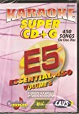CHARTBUSTER SUPER CD+G Volume #5 - 450 CDG Karaoke Songs Playable on CAVS System or on your PC DVD player using Windows.