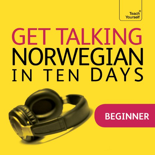 Get Talking Norwegian in Ten Days audiobook cover art