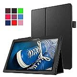 Funluna Lenovo Tab 2 A10 / Tab3 10 Plus / Tab3 10 Business Funda, Ultra Slim Smart Case Carcasa Auto Sueño/Estela para Lenovo Tab 2 A10-70F/A10-70L/A10-30/X30F/Tab 3 10 Plus/Business 10,1' Tableta