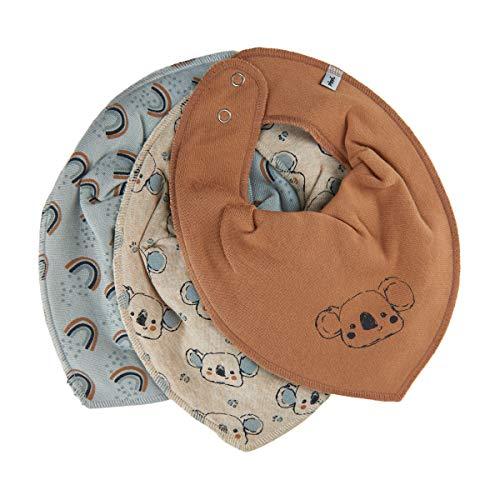 Pippi Unisex Baby Bandana bib Uni Dreieckstücher, Sandshell, One Size