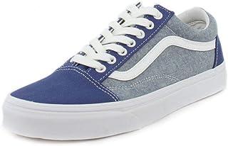 7a46ca9370c Vans Mens Chambray Old Skool Sneaker
