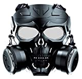 Best Gas Masks - M10 Full Face Airsoft Tactical Protective Gas Mask,Toxic Review