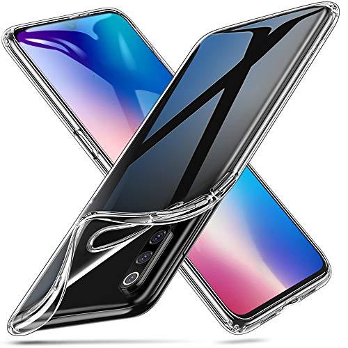 ESR Funda Xiaomi Mi 9, Essential Zero de TPU Suave Transparente Delgada Compatible con Xiaomi Mi 9, Funda Suave de Silicona Flexible - Jalea Transparente