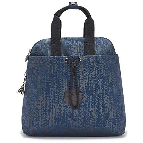 Kipling Women's GOYO M BACKPACKS, Blue Eclipse Pr, 14x34x32.5 cm