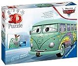 Ravensburger Puzzle 3D 11185 Volkswagen T1 Cars Fillmore, 162 Piezas Multicolor, Edad recomendada 8+, Dimensiones finales 30x14x15 cm