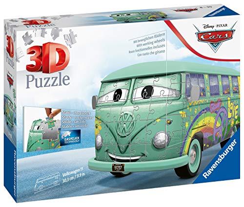 Ravensburger 3D Puzzle 11185 - Volkswagen T1 Cars Fillmore - 162 Teile
