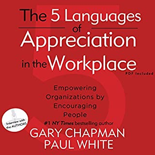 The 5 Languages of Appreciation in the Workplace cover art