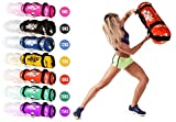 ONEX New 0-30KG Sand Bags Power Sand Bag Weighted Heavy Filled Workout Fitness Exercise (15kg, Black)