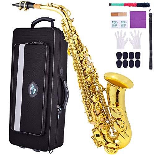 EASTROCK Alto saxophone golden (Golden)