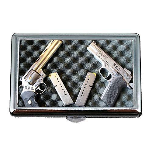 Zigaretten-Aufbewahrungskoffer/Box, Feuerzeug, Zigarettenetui Box, Waffen, Visitenkartenetui Visitenkartenetui Edelstahl