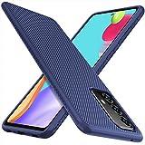 iBetter Hülle Kompatibel mit Samsung Galaxy A52 4G/5G, Ultra Thin Schutzhülle Shock Absorption Handyhülle. Blau