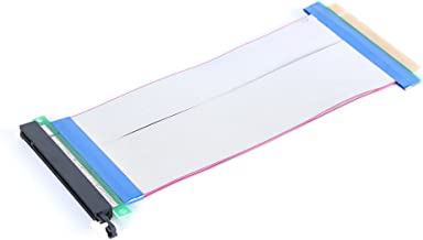 XRP PCI-E PCI Express 16X Riser Card Extender Flex Flexible Extension Cable for 1U 2U Small Case