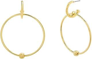 Steve Madden Women's Hoop Earrings - SME508984GD
