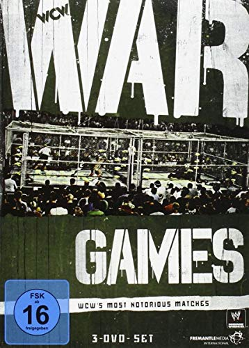 WWE - War Games: WCW's Most Notorious Matches [3 DVDs]