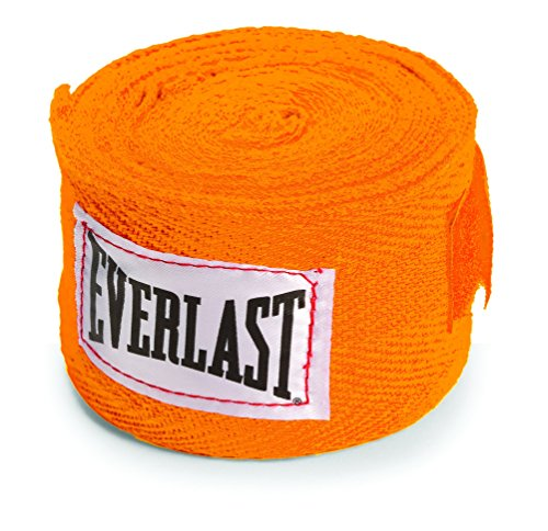 Everlast 4455ORN Hand Wrap, 2x108-inch (Orange)