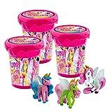 CRAZE Magic Slime Galupy 30967 - Slime mágico para niños con Unicornio (3 x 150 ml)