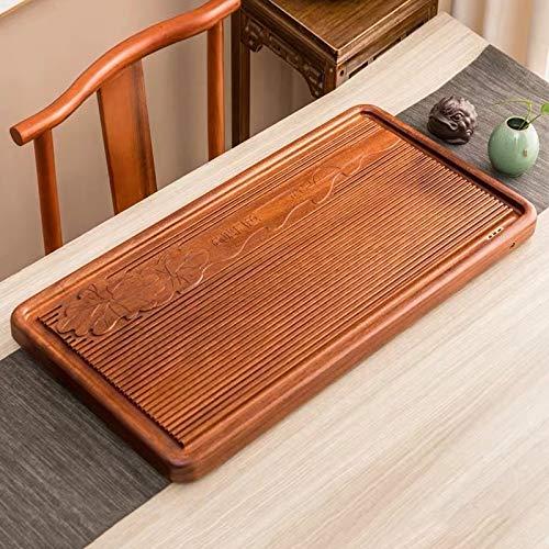 Purchase QGT Household Rosewood Rectangle Tea Tray Tea Table, Pondoflotus, L, Size: 80x41x5cm