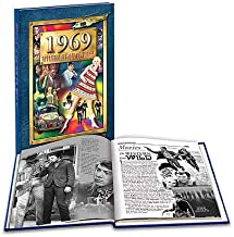 1969 What A Year it Was: 50th Birthday or Anniversary Hardcover Coffee Table Book