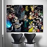 YuanMinglu I Justice Poster Print Mural Art Canvas Pintura al óleo Pintura...