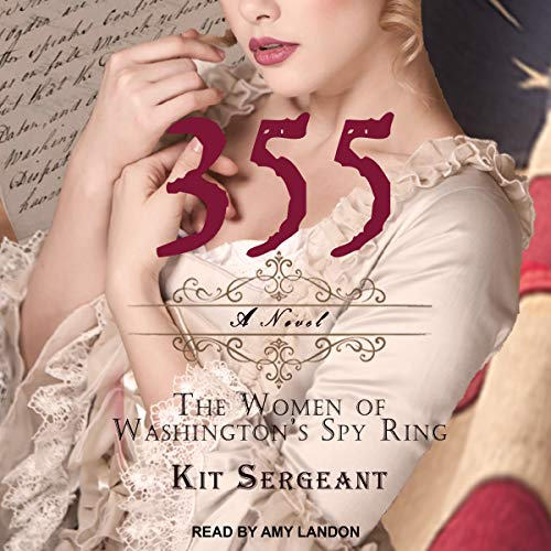 355: A Novel audiobook cover art