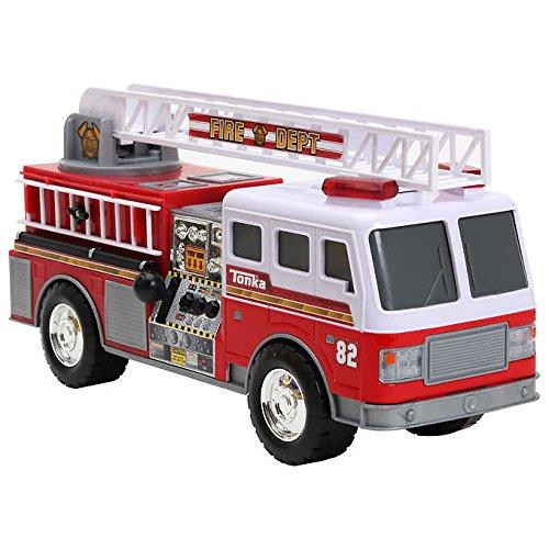 Tonka Fire Rescue Mighty Motorized Fire Truck Build To Last