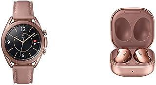 Reloj inteligente Samsung Galaxy Watch 3 (1.614 in, GPS, Bluetooth) ? bronce místico con Samsung Galaxy Buds Live, T, bronce místico