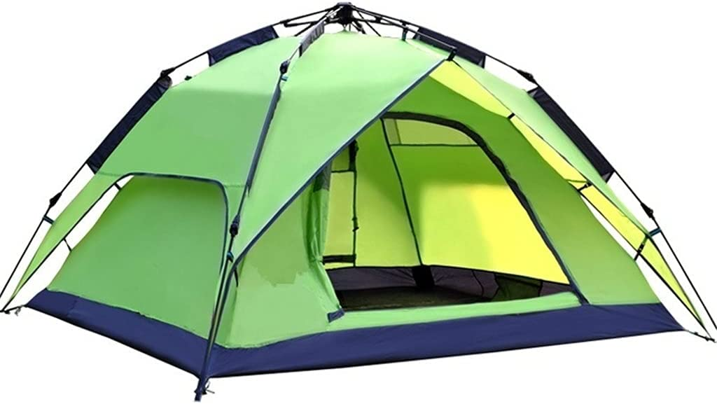 RYSF Popular standard Automatic Camping Tent Virginia Beach Mall 3-4 Double Person Layer Family