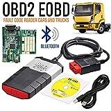 Detector de Fallas del Carro del AutomóVil OBD2 TCS CDP Pro DS150 con Bluetooth Blue Double Board