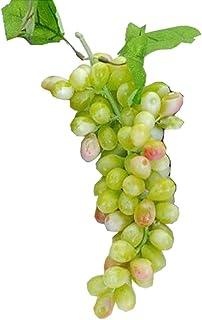 Plast vacker simuleringsmodell av gröna druvor/lekleksak/köksdekoration
