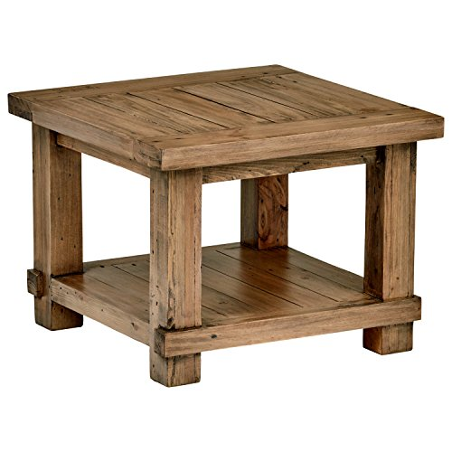 Amazon Brand – Stone & Beam Ferndale Rustic Coffee Table, 51'W, Sandstone