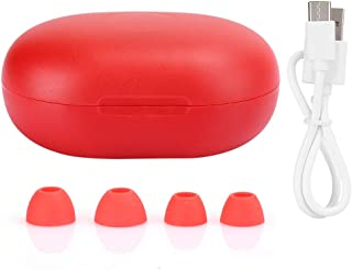 Socobeta PT05 True Wireless Earbuds Bluetooth 5.0 Auricolare Mini Stereo Sound Cuffie(Rosso)