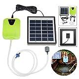 ZLININ Válvula solar al aire libre bomba de aire eléctrica de la bomba Oxigenador 2.5W charca de la energía peces de acuario tanque Bomba de la piscina