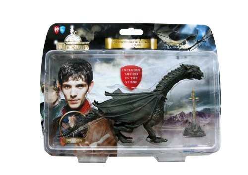 The Adventures of Merlin Dragon with Sword in Stone Limited Edition Action figure