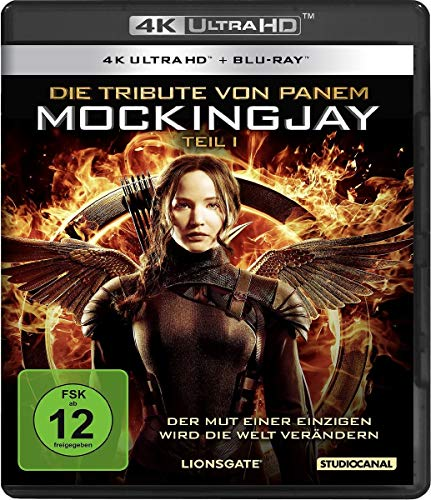 Die Tribute von Panem - Mockingjay 1 (4K Ultra-HD) (+ Blu-ray)