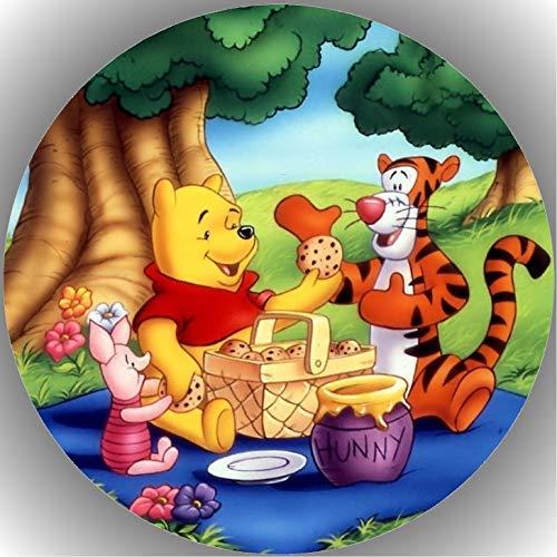Fondant Tortenaufleger Tortenbild Geburtstag Winnie Pooh T5