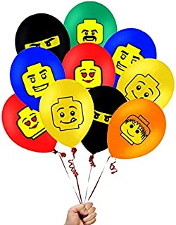 24 Count LEGO-Inspired Balloons 12