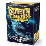 Arcane Tinmen Sleeves: Dragon Shield Matte Night Blue (100)